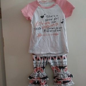 Other - Boutique brand size 4 2-piece outfit